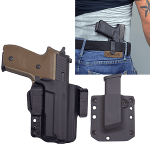 Sig Sauer P229 Legion 9mm Torsion IWB Kydex Gun Holster Combo