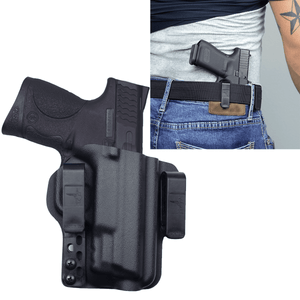 "Smith & Wesson M&P 40 compact (3.5"") Torsion IWB Kydex Gun Holster - Bravo Concealment"