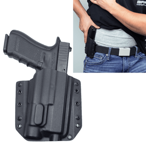 Glock 31 Streamlight TLR-1s BCA OWB Kydex Gun Holster - Bravo Concealment