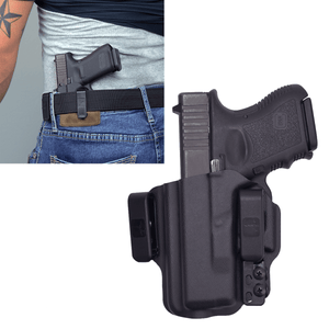 Glock 27 Torsion IWB Kydex Gun Holster (Left Hand) - Bravo Concealment