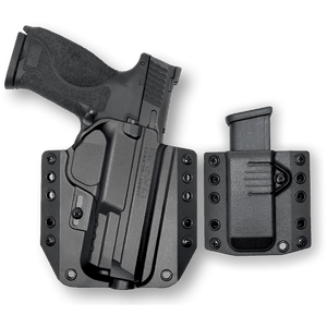 "S&W M&P 9 (4.25"") OWB Gun Holster Combo"