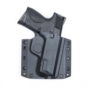 "S&W M&P 40 compact (3.5"") BCA OWB Kydex Gun Holster Combo - Bravo Concealment"