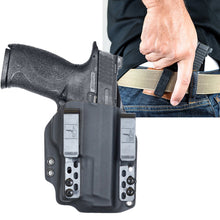 "S&W M&P 9 2.0 (4.25"") Surefire XC1 DOS-Light Bearing IWB Kydex Gun Holster - Bravo Concealment"
