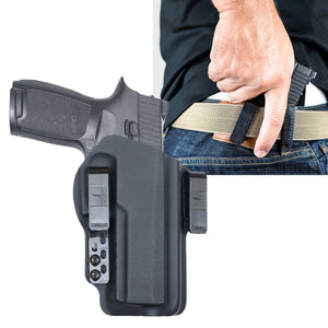 Sig P320 X-VTAC 40sw Torsion IWB Kydex Gun Holster - Bravo Concealment