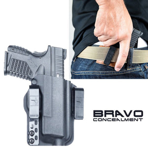 "Springfield XDS Mod.2 (3.3"") 9mm Torsion IWB Kydex Gun Holster - Bravo Concealment"
