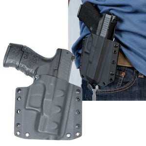 Walther PPQ M2 Sub Compact 9mm OWB Kydex Gun Holster