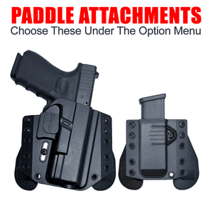Sig Sauer P226 Select 9mm OWB Kydex Gun Holster - Bravo Concealment