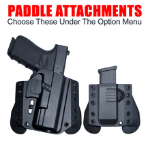 "S&W M&P 40 2.0 compact (4"") / XC1 OWB Kydex Gun Holster + Free Mag Pouch"