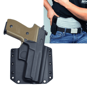 Sig Sauer P229 Select 9mm OWB Kydex Gun Holster - Bravo Concealment