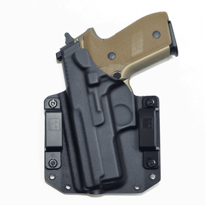 Sig Sauer P229 Enhanced Elite 9mm OWB Kydex Gun Holster - Bravo Concealment