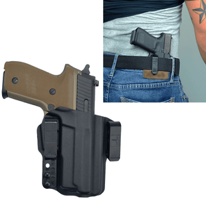 Sig Sauer P229 Enhanced Elite 9mm IWB Kydex Gun Holster - Bravo Concealment