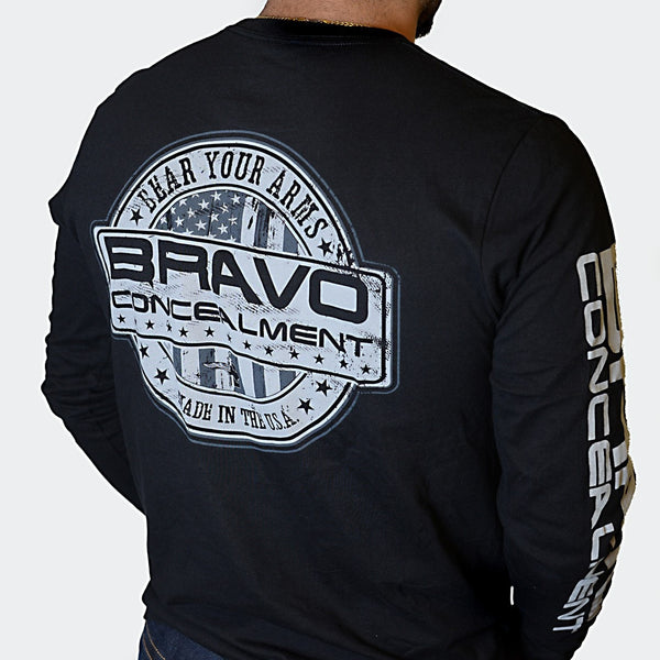 Bravo Concealment Long Sleeve Shirt Rear Profile