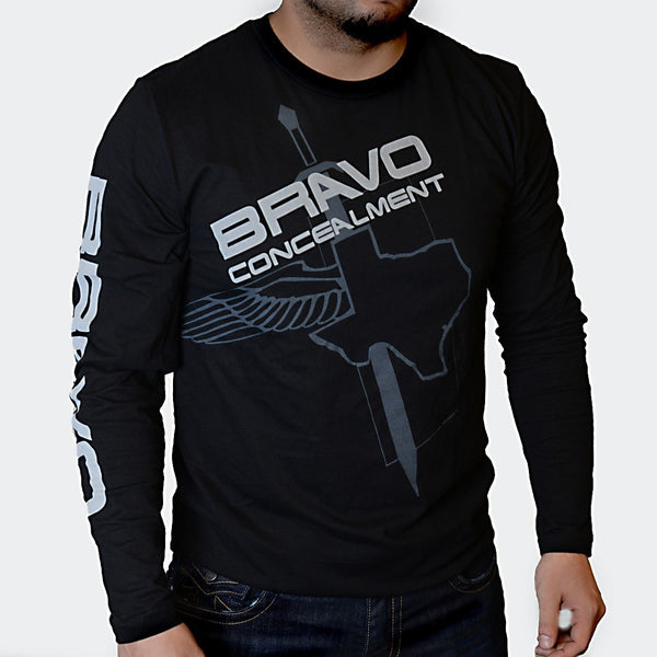 Bravo Concealment Long Sleeve Shirt Front Profile