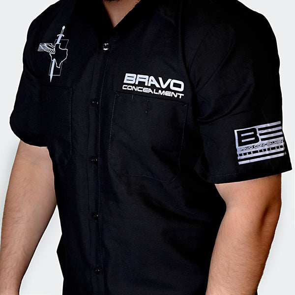 Bravo Concealment Work Shirt Front Profile