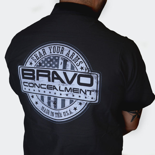 Bravo Concealment Work Shirt Rear Profile