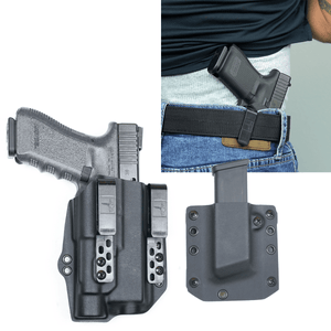Glock 31 Streamlight TLR-1s DOS-Light Bearing IWB Kydex Gun Holster Combo - Bravo Concealment