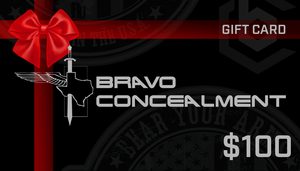 Gift Card - Bravo Concealment
