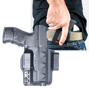 Walther PPQ M2 Sub Compact 9mm Torsion IWB Kydex Gun Holster - Bravo Concealment