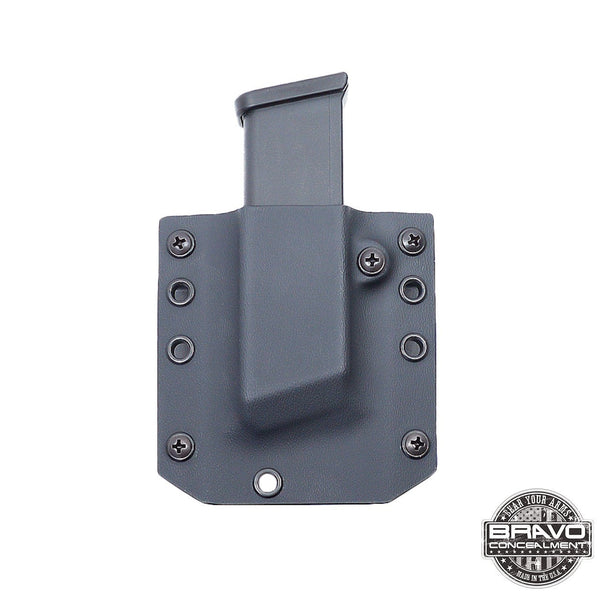 Front View Single Magazine Pouch - Bravo Concealment