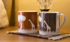 Mug: Colours Giraffe 400ml