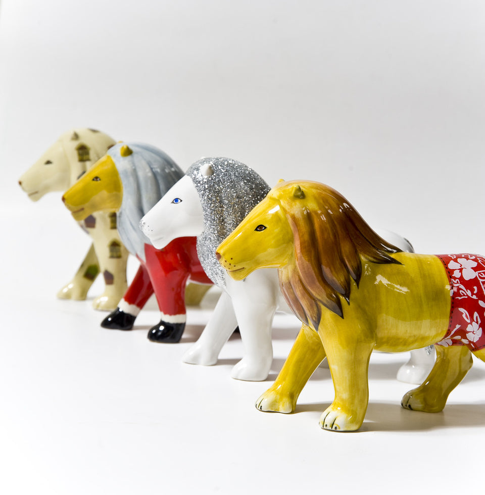 Lion Set: Full set of 4