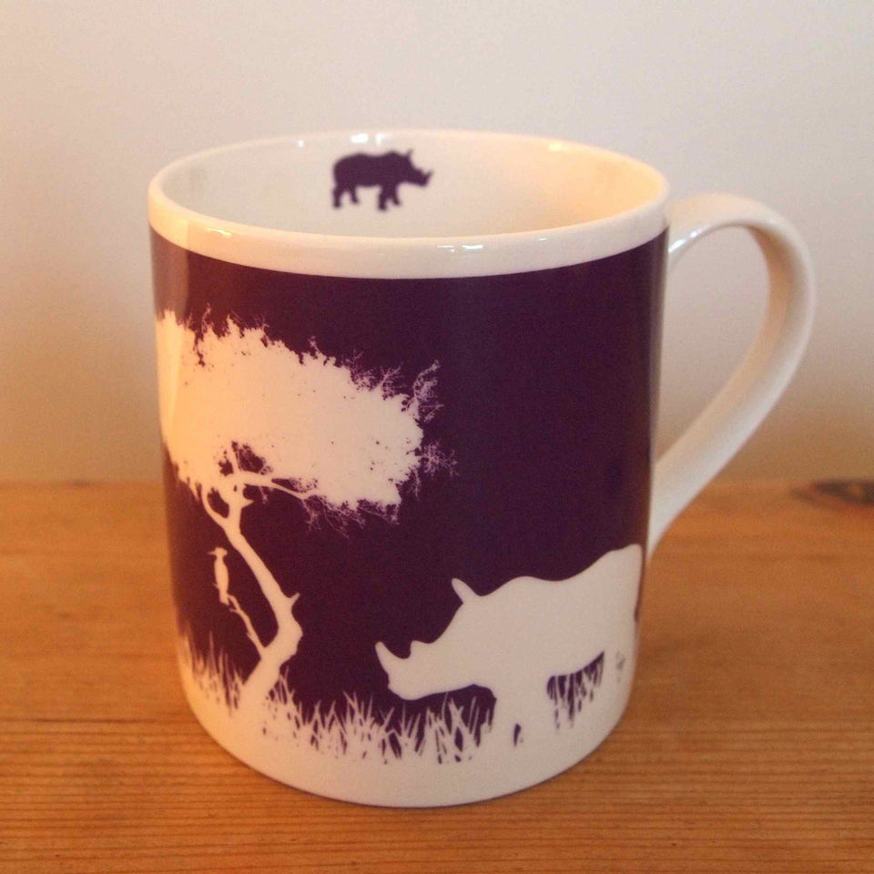 Rhino Mug Purple