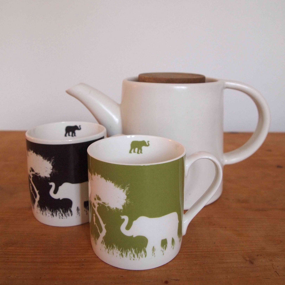 Mug: Colours Elephant 400ml