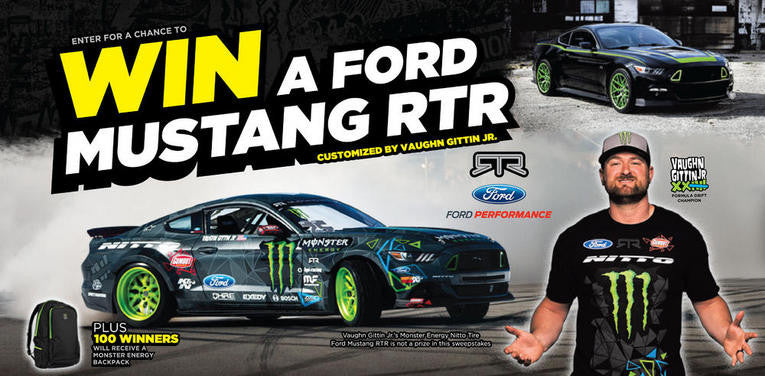 MONSTER REHAB ® LAST CHANCE TO WIN A 2015 FORD MUSTANG RTR SPEC 1