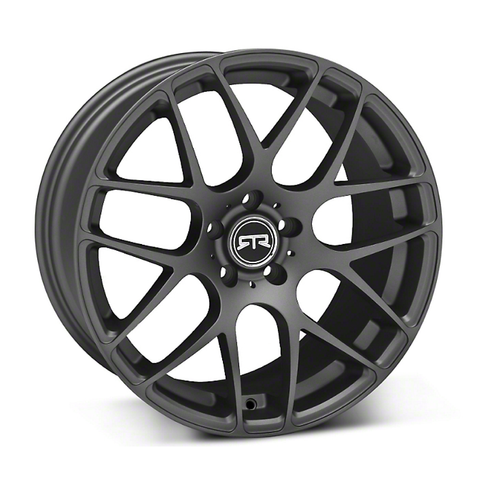 Mustang RTR Wheel Matte Charcoal - Mustang RTR - 4