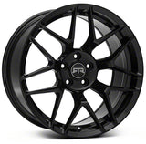 MUSTANG RTR TECH 7 WHEEL GLOSS BLACK - Mustang RTR - 1