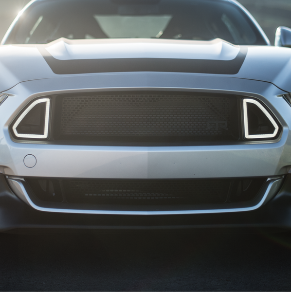 Rtr Grille W Led Accent Vent Lights 15 16 All Mustang Rtr