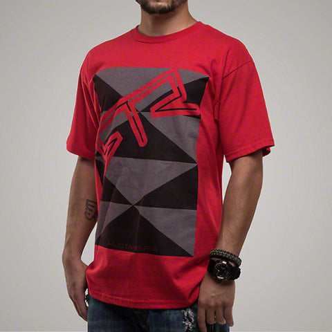 Mustang RTR Red Tri-Angle T-Shirt - Mustang RTR - 1