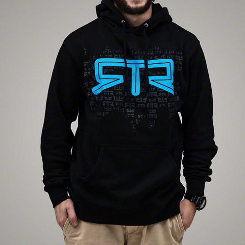 Mustang RTR Blue Logo Pullover Hoodie - Mustang RTR - 1