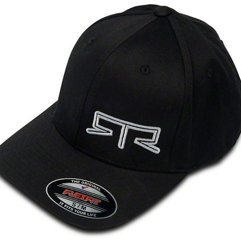 Mustang RTR Logo Black Flex Fitted Hat - Mustang RTR - 1