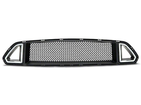 RTR GRILLE W/ LED ACCENT VENT LIGHTS (15-17 ALL) - Mustang RTR - 2