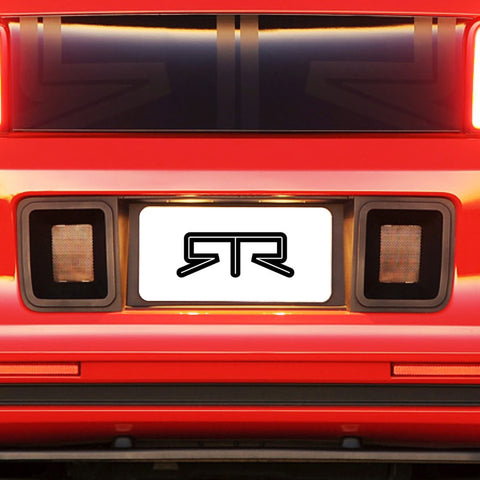 RTR Mustang License Plate Surround with Ducts 2013-2014 - Mustang RTR - 1