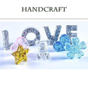 Handmade Crystal Glue (83pcs)