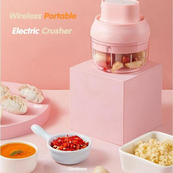 Wireless Portable Electric Crusher