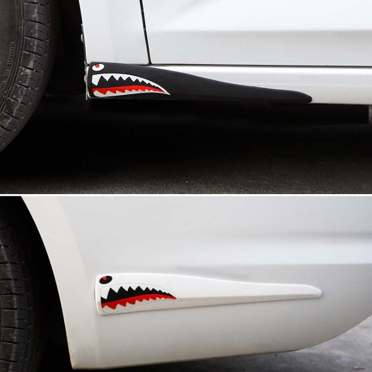 Car bumper protection (2 pieces)