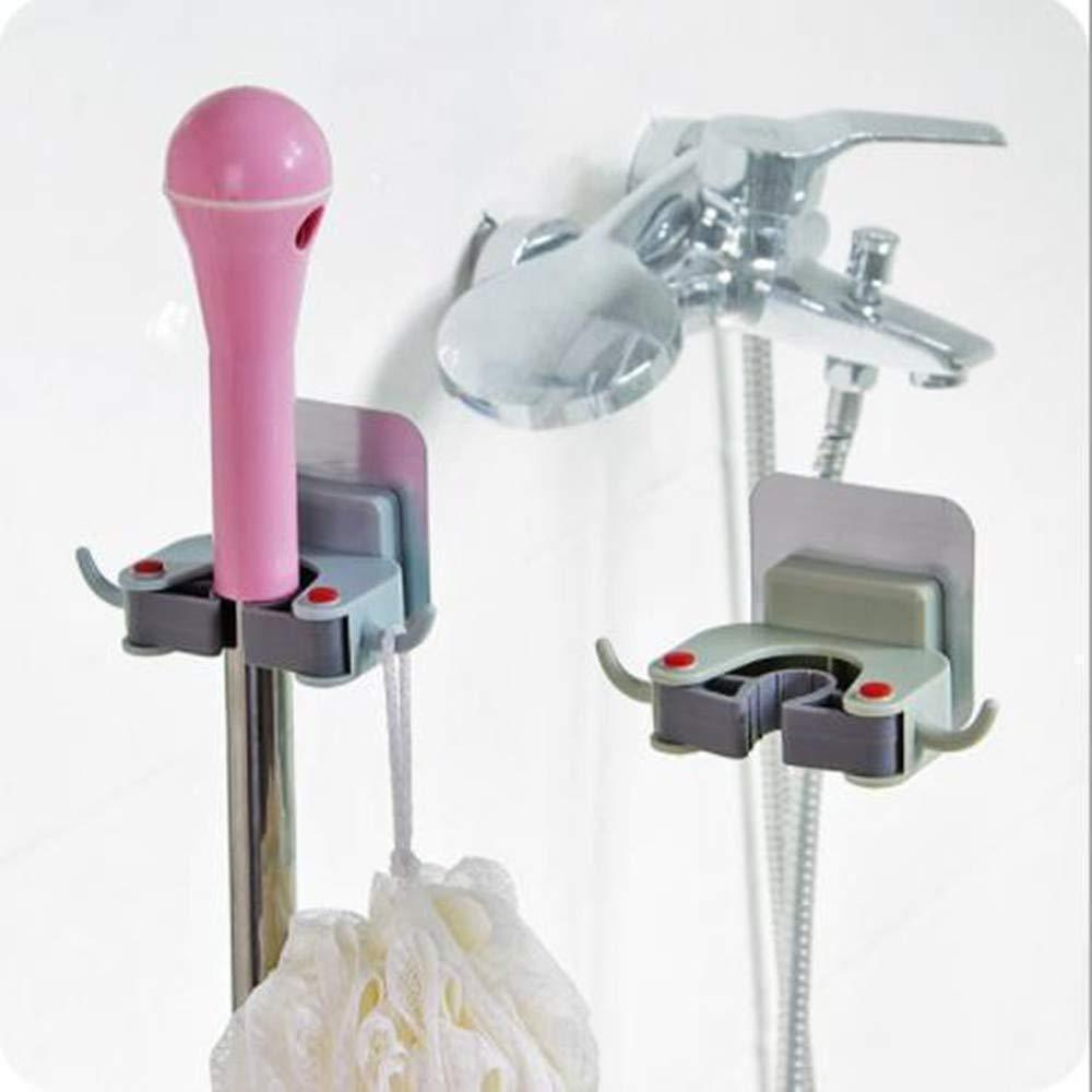 Bathroom Wall Mounted Mop Clip
