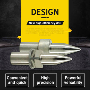 Thermal Friction Drill Bit