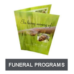 Shop for Funeral Programs
