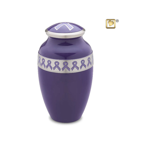 Awareness™ Cremation Urn in Pink or Purple