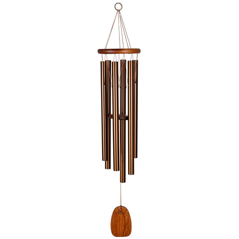 Amazing Grace Wind Chime in Bronze