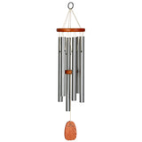 Memorial Wind Chime - Amazing Grace in Silver