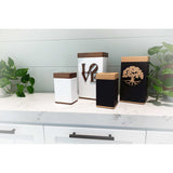 Vessel Elevation White Urn with PhoneTouch
