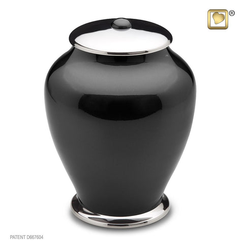 Simplicity™ Tall Urn in Midnight