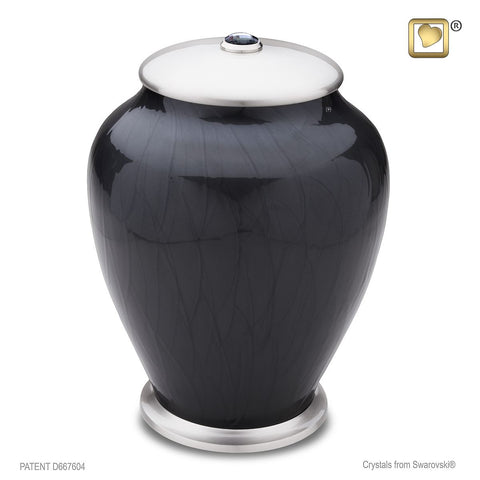 Simplicity™ Tall Urn in Midnight Pearl