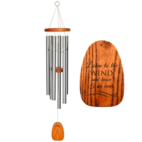 Amazing Grace Wind Chime in Silver