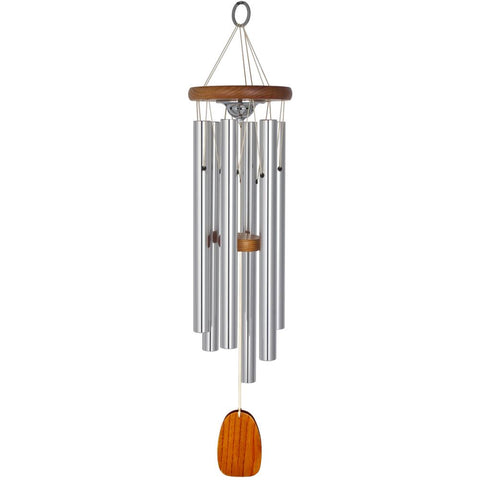 Amazing Grace Memorial Wind Chime with Ash Keepsake - 24 inch